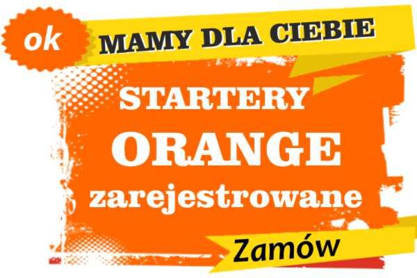 Sprzedam zarejestrowane karty sim orange Świnoujście zadzwoń 887 332 665